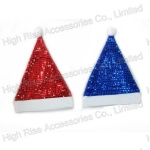 Christmas Sequin Santa Hat, Party Hat, Cosplay Hat