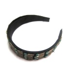 Beaded Pattern Alice Band
