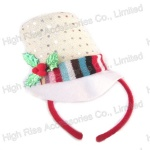 Christmas Sequin Top Hat Headband, Party Headband, Promotional Gift