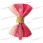 Three Pink Colors Bow Hair Clip