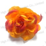 Two Colors Rose Hair Clip and Brooch, Flower Alligator Clip