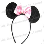 Glitter Minnie Ear Alice Band