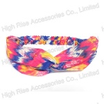Neon Color Two-Piece Sewed Headwrap